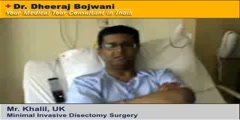 Spinal Discectomy Surgery - India