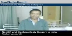 Necklift And Blepharoplasty Surgery - India