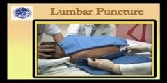 Pediatric lumbar puncture