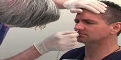 Nasogastric tube insertion demonstration NGT