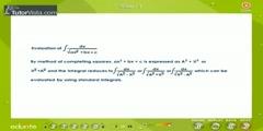 Application Of Indefinite Integrals