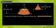 What is Frustum of Cone