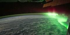 Aurora Viewed From Space