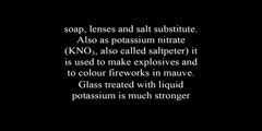 What Are The Facts About Potassium?