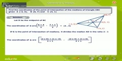 Calculating the Centroid Of a Triangle