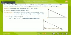 The Converse Of Pythagoras Theorem