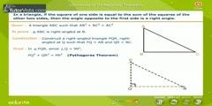 The Converse Of Pythagoras Theorem