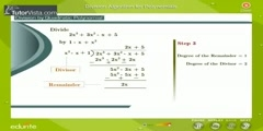 Polynomial Division Rule