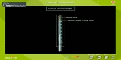 Functions of a Mercury Thermometer