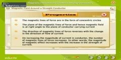 Characteristics Of Magnetic Field Around Current Carrying Conductors
