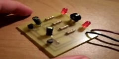 How to make the circuit transistor flasher