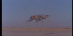 Training on lunar landing vehicle