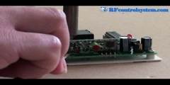How to install magnetic mount antenna on rf receiver