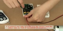 How To Reverse a DC Motor by RF Remote Motor Controller