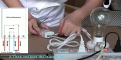 How to operate 1ch rf toggle remote control switch
