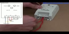 AC220V Time Delay Radio Motor Controller Reversing