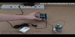 12V RF Motor Controller Reverse by Toggle/Momentary/Latching