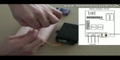 Wireless Remote Control Fireworks Ignitor Operation