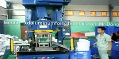 How its made-household aluminum foil container