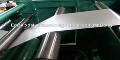 How its made -household aluminum foil rolls