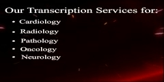 Medical transcription outsourcing | Companies | Services | E