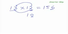 Smarter wat to multiply numbers close to 10