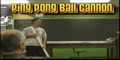 PNW: Ping Pong ball cannon