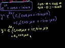 Lec 18 - Complex roots of the characteristic equations 2