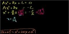 Quadratic Formula (proof)