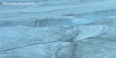 Ice lakes in Greenland drain with the speed of Niagara Falls