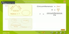 Area and Perimeter of a Circle first part