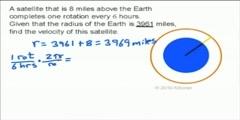 Angular and Linear Velocity Killer Math Video