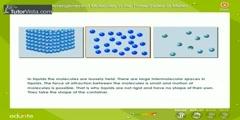 Molecular Arrangement In Matter