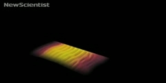 How does a short flash of light snap images of laser pulses?