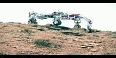 Features of a Lunar robot