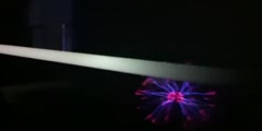 Playing With Plasma Ball 360