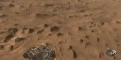 View of Mars Landing 2012