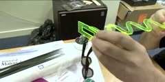 Working of 3D Glasses