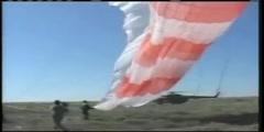 Soyuz Landing Video Clip