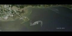 Growing Oil Spill Picture Captured From Satellites