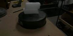 Burning Magnesium And Dry Ice