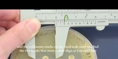 Callipers and vernier scale - microbiology resource lesson