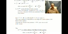 A Soliton Solution to the Klein-Gordon Equation