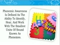 What Is Phonemic Awareness - Reading Program For Kids, Phoni