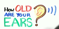 Hearing loss and age