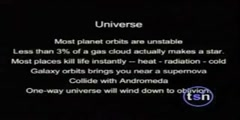 Errors in the design of the universe and us