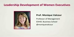 Leadership development of women executives