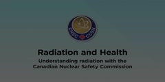 The effect of radiation on health