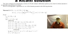 The Formula for Generalizing a Ricatti solution