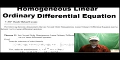 Factoring any 2nd Ordr Linear Ordinary Differential Equation